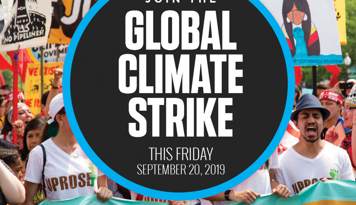 Global Climate Strike Date: This Friday, September 20